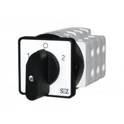 Łącznik krzywkowy 1-0-2 3-fazowy  S40 JD 2203 C6