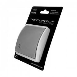 Przycisk dzwonkowy 10A pojedynczy natynkowy IP44 popiel/grafit 155-08 DV 8240