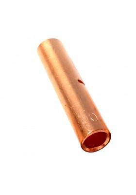 Złączka kablowa miedziana Z6 6mm2 tulejka bez pokrycia galwanicznego 6 mm2 Radpol 01-203-00 1212