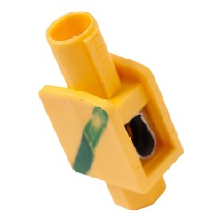 Zacisk pojedynczy 1x1-4mm2 żółto-zielony do puszek przewodów