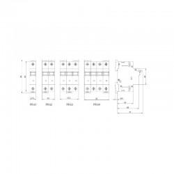 sez fi ls b16a 30ma 4p 10ka rcbo fi ls schalter 0090903 kombi schalter 9951 ebay. Black Bedroom Furniture Sets. Home Design Ideas