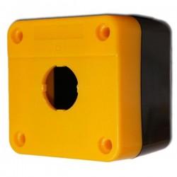 Kaseta sterownicza XAL-BE01 na 1 przycisk żółta
