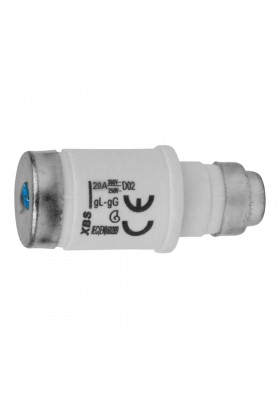 Wkładka topikowa D02 20A E18 gL-gG