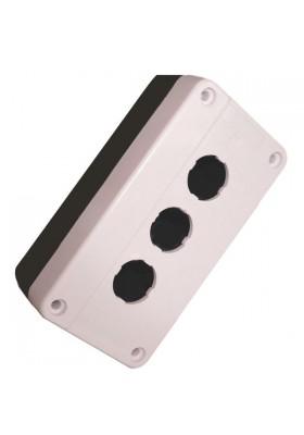 Kaseta sterownicza XAL-BE03 z 3 otworami