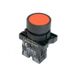 Przycisk 0-1 ze stykiem NC LAY5-EA42 czerwony