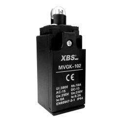 Wyłącznik krańcowy MVGK-102 1NO/1NC rolka XCKP XBS 1020