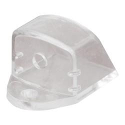 Zaślepka do profili typu A1 napowierzchniowego z otworem transparentna