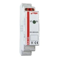 1-fazowa zielona Kontrolka sygnalizacyjna
