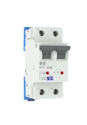 Wyłącznik nadprądowy prądu stałego C10A 2P