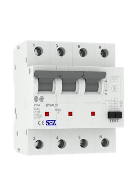 Wyłącznik różnicowoprądowy B16 30mA 4P RCBO