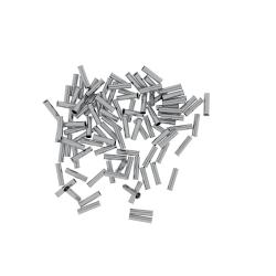 Końcówka tulejkowa nieizolowana 2,5 mm²/12mm