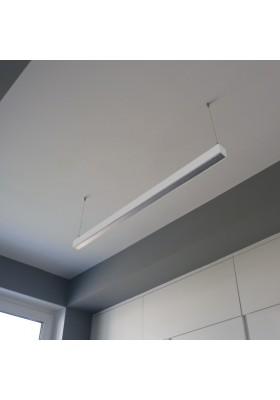 Oprawa liniowa LED 113cm 30W QUALIS srabrna
