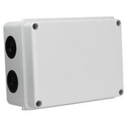 Puszka natynkowa z dławikami 160x120x75 10membran IP66 008.PG M-L 1803