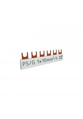 Szyna łączeniowa grzebieniowa 1F 6M 10mm2