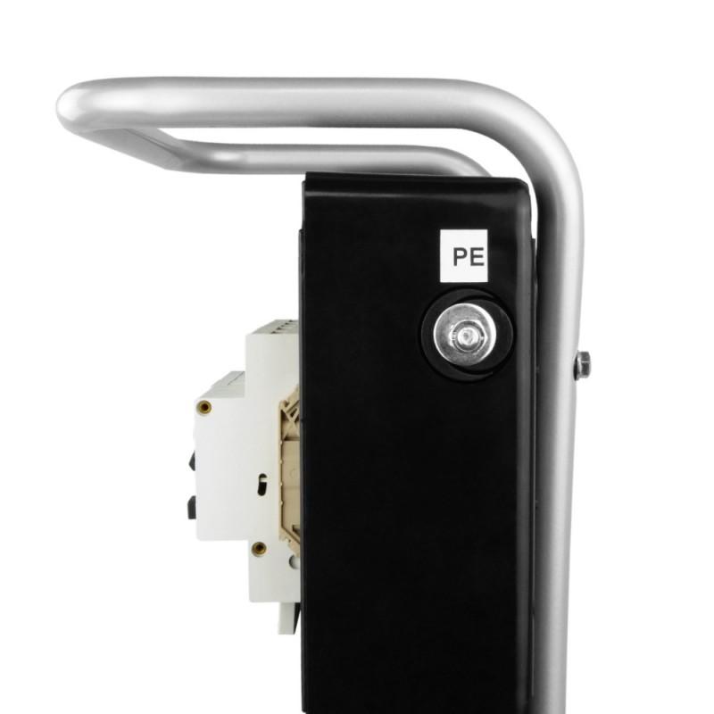 Stromverteiler TD-S//FI 8x230V Kabel 5x4mm2 Ständer SKHU Doktorvolt® 0342