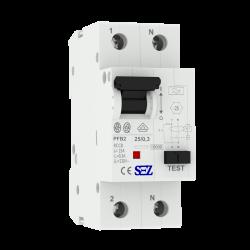 Wyłącznik różnicowo-prądowy SEZ TYP A 25A 300mA 2P 10kA VDE 5272