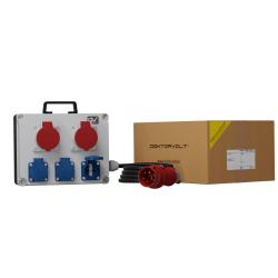 Rozdzielnica FRED/PL  2x16A 3x230V + Kabel 1m