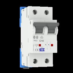 C10A 2P 10kA Wyłącznik nadprądowy bezpiecznik