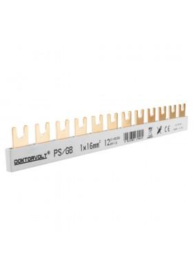 Szyna łączeniowa grzebieniowa PS/GB 1F12M 16mm2