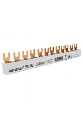 Szyna łączeniowa grzebieniowa PS/GB 3F 12M 10mm2