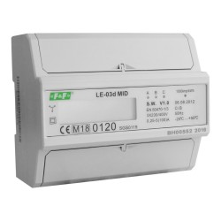 Licznik zużycia energii LE-03d MID F&F