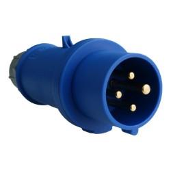 Wtyczka 16A 4p 9h 230V IP44 151A złącze przemysłowe - zasilające MENNEKES 8629