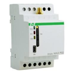 Przekaźnik zdalnego sterowania GSM Sterowanie bramą CLIP F&F 7223