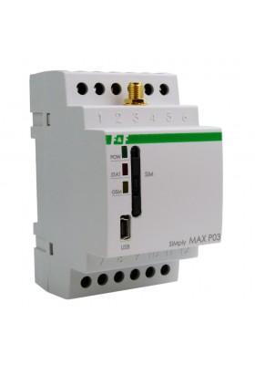 Przekaźnik zdalnego sterowania GSM Sterowanie temperaturą SIMply MAX P03 F&F 9784