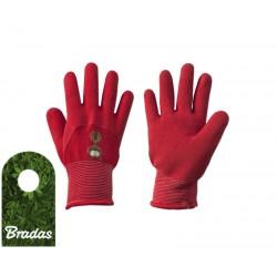 Rękawice ochronne KITTY lateks rozmiar 4 BRADAS 5779