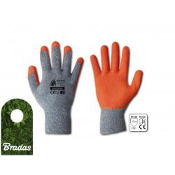 Rękawice ochronne HUZAR CLASSIC PLUS lateks rozmiar 10 BRADAS 6326
