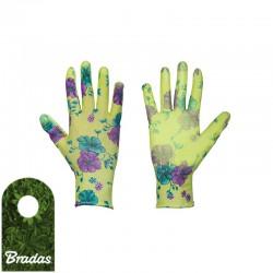 Rękawice ochronne PURE FLOXY poliuretan rozmiar 8