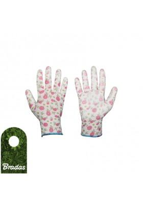 Rękawice ochronne PURE PRETTY poliuretan rozmiar 6