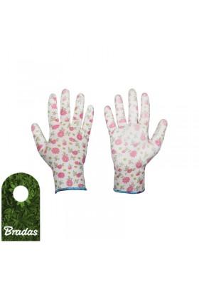 Rękawice ochronne PURE PRETTY poliuretan rozmiar 8