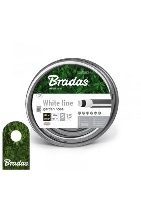"""Wąż ogrodowy 1/2"""" 30m WHITE LINE WWL1/230  BRADAS"""