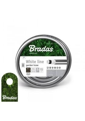 """Wąż ogrodowy 1/2"""" 50m WHITE LINE WWL1/250 BRADAS"""