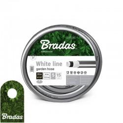 """Wąż ogrodowy 5/8"""" 50m WHITE LINE WWL5/850 5 warstw BRADAS 5687"""