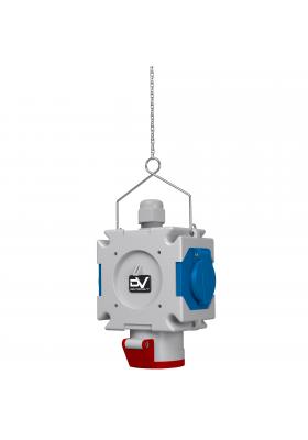Rozdzielnica wisząca mDV 16A 2x230V Schuko
