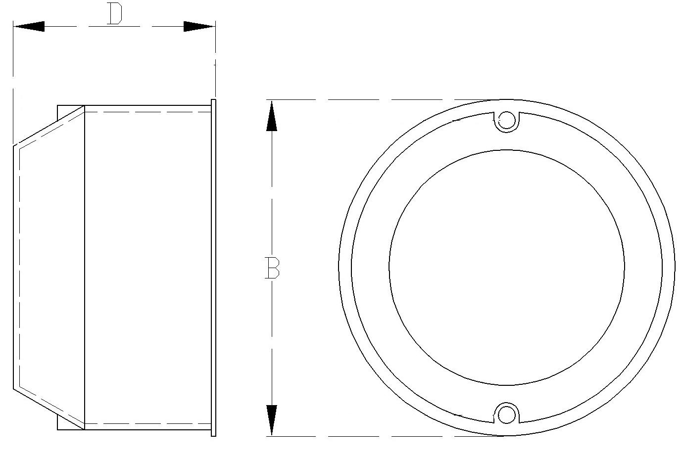 Bevorzugt Schalterdose 13.3 Unterputzdose 80mm PK p/t Ø 80 OR69