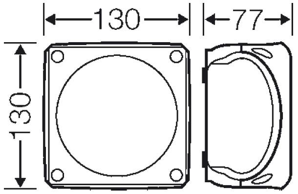 Puszka odgałęźna bez zacis- DK 0400 G