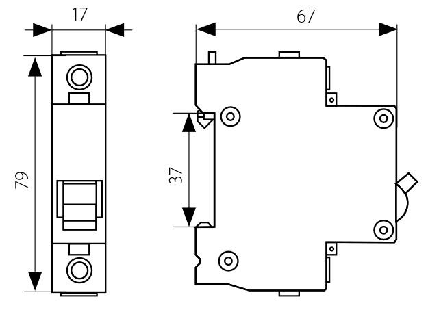 leitungsschutzschalter c16a 1 polig 6ka sicherungsautomat ls schalter schteiner ebay. Black Bedroom Furniture Sets. Home Design Ideas